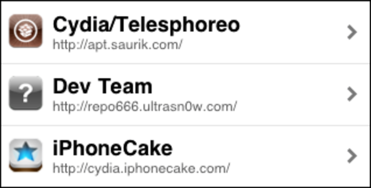 iPhonecake repository is now listed