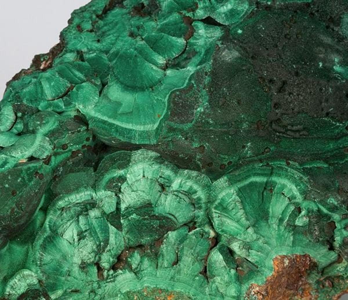 Chatoyant Malachite from Bisbee, Arizona
