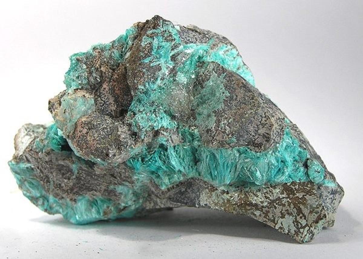 Aurichalcite from Bisbee, Arizona