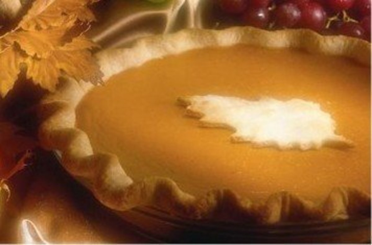 Thanksgiving Pumpkin Pie Picture