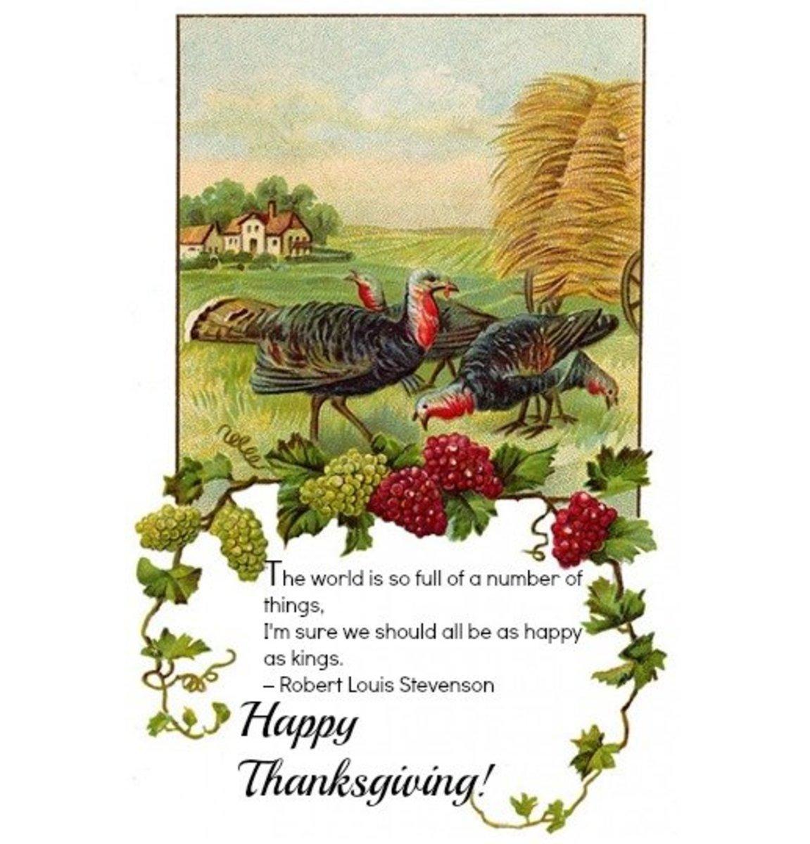 Happy Thanksgiving Poem