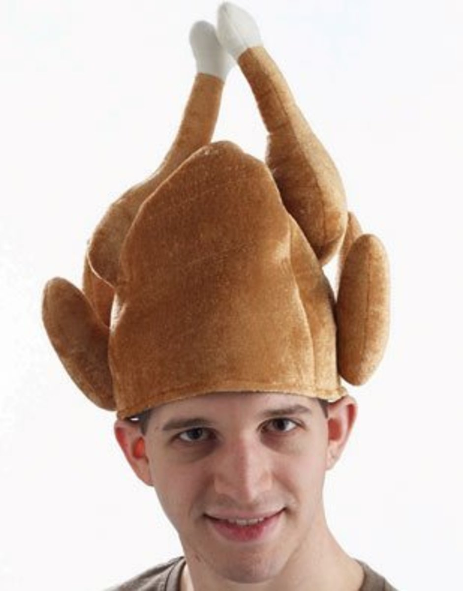 Funny Turkey Head