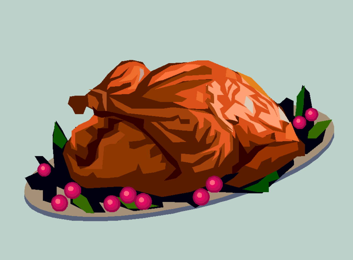 Turkey with Cranberries
