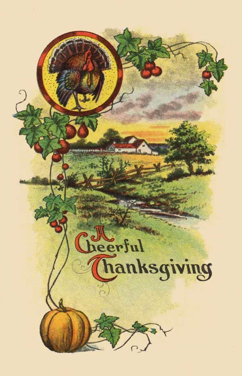 A Cheerful Thanksgiving Greeting
