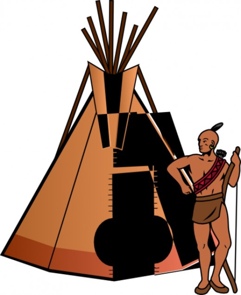 Indian and Tipi