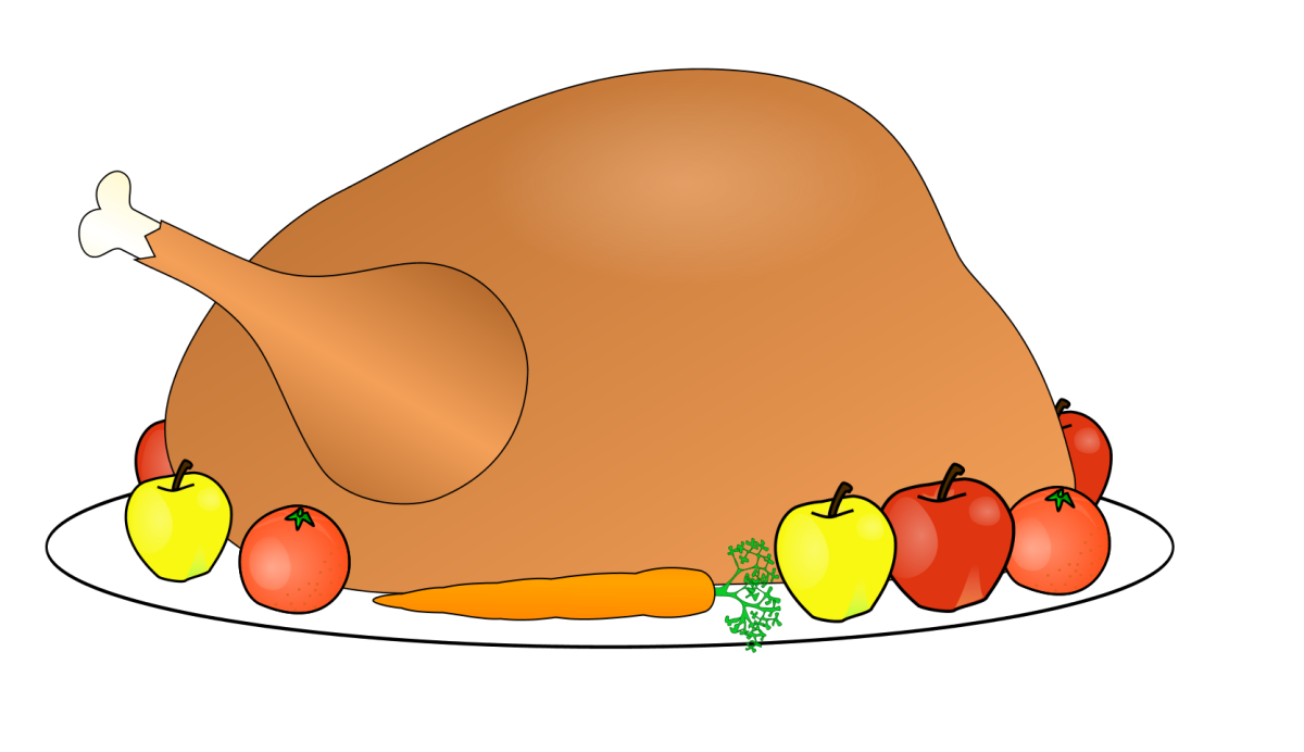 Turkey with Carrot and Fruit