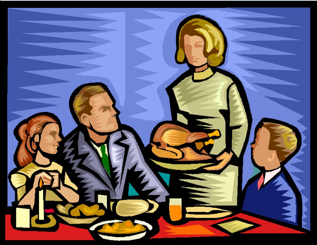 Thanksgiving Day Family Meal