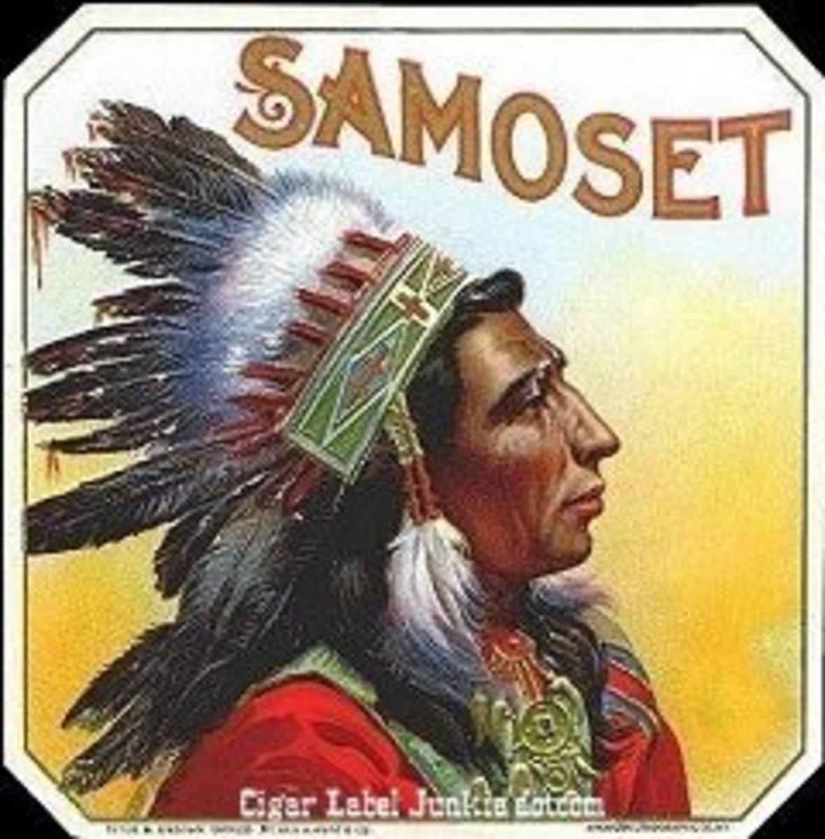 Wampanoag Indian Chief Samoset