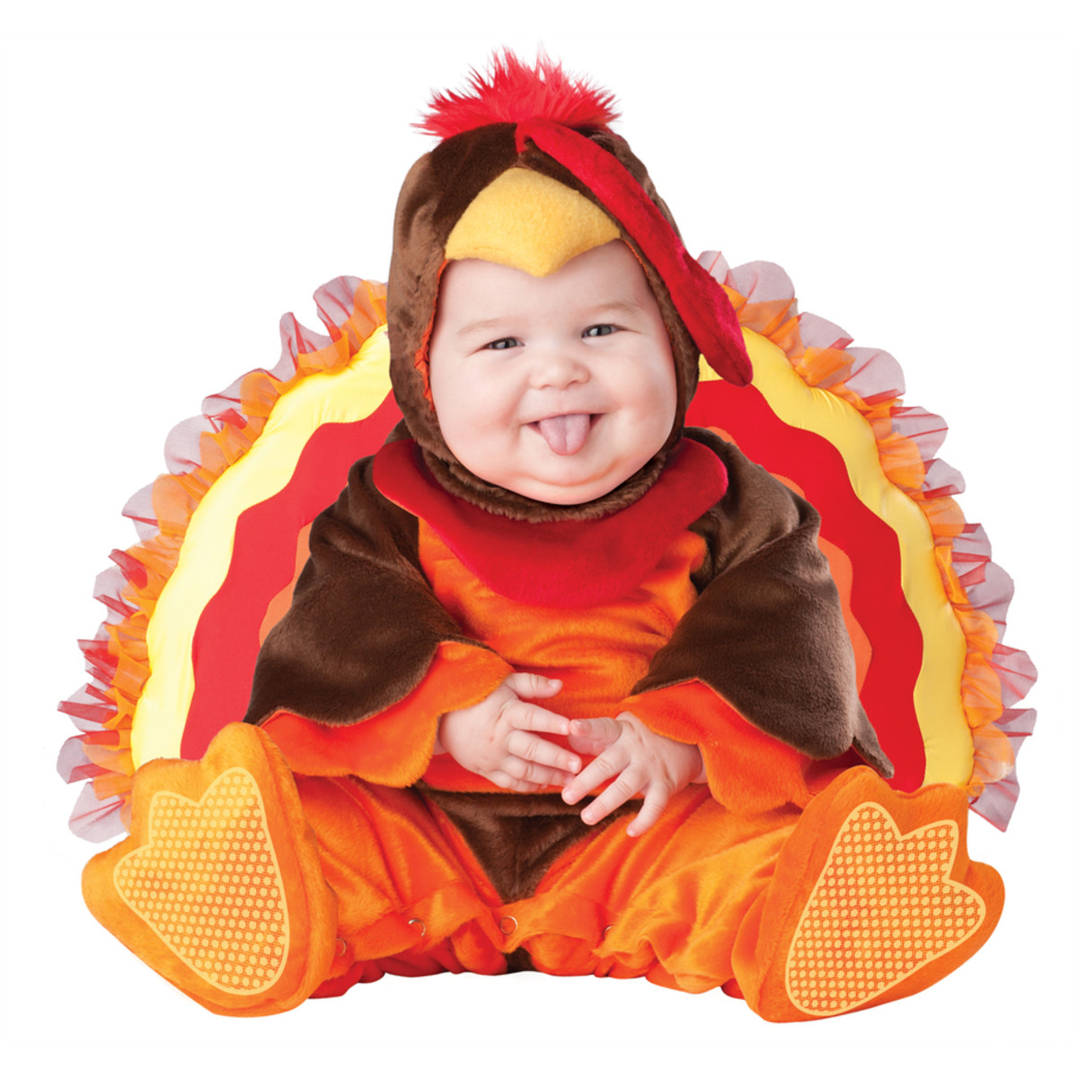 Baby Dressed as a Turkey
