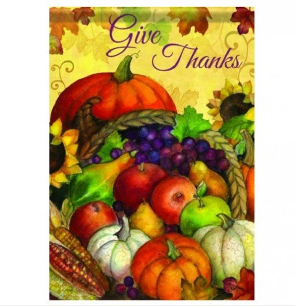 Give Thanks for Overflowing Cornucopia