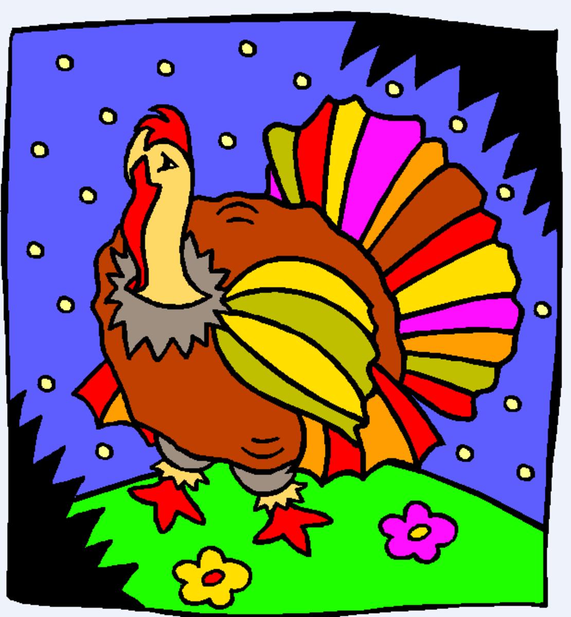 Turkey of Many Colors