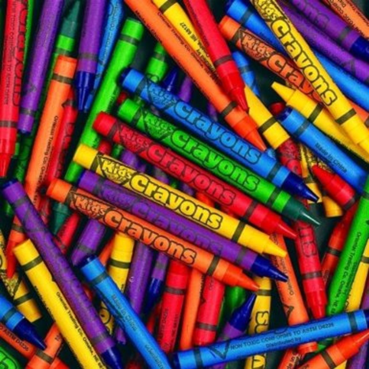 Coloring Crayons for Coloring Pages