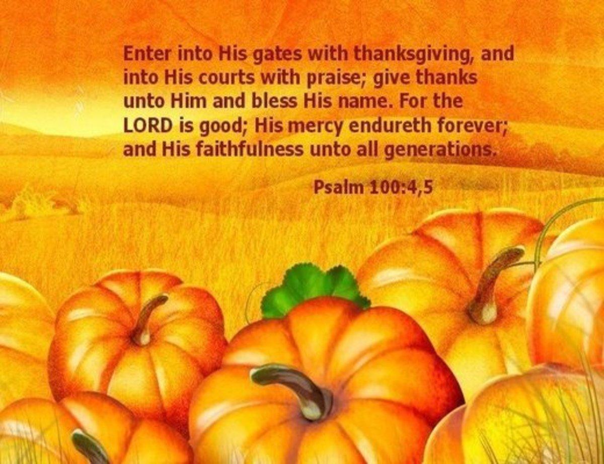 Psalm of Thankfulness