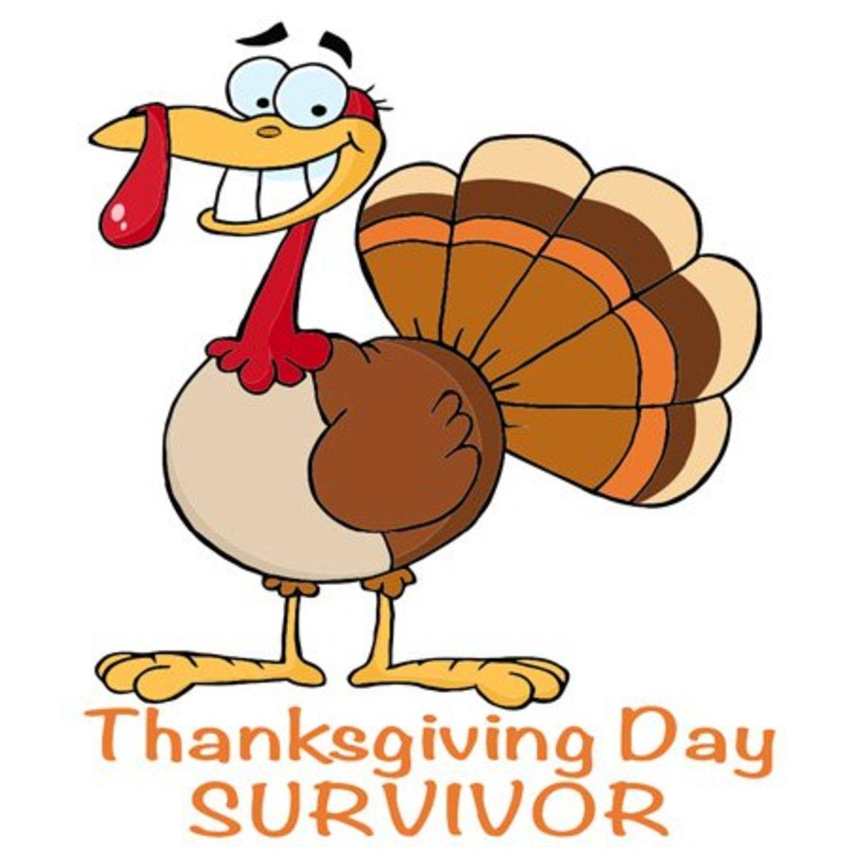 Thanksgiving Day Survivor Turkey