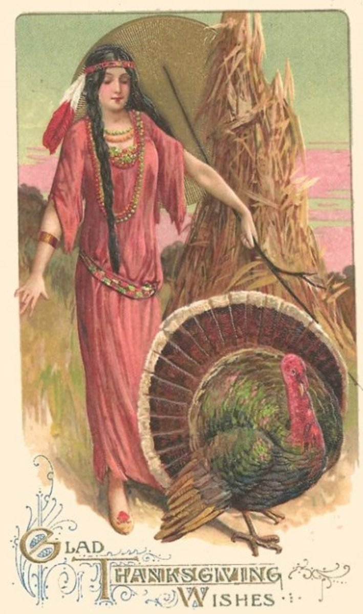 Indian Princess Thanksgiving Wishes