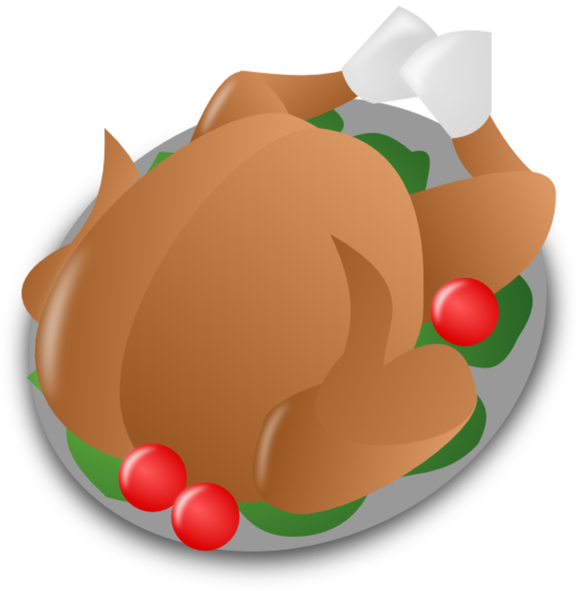 Thanksgiving Turkey with Apples