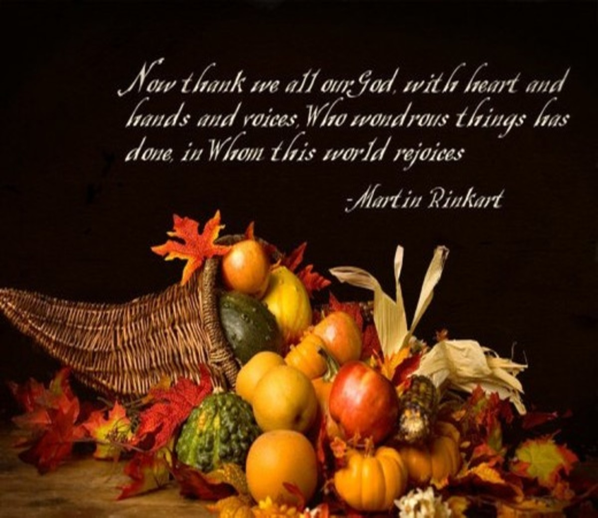 Thanksgiving Prayer