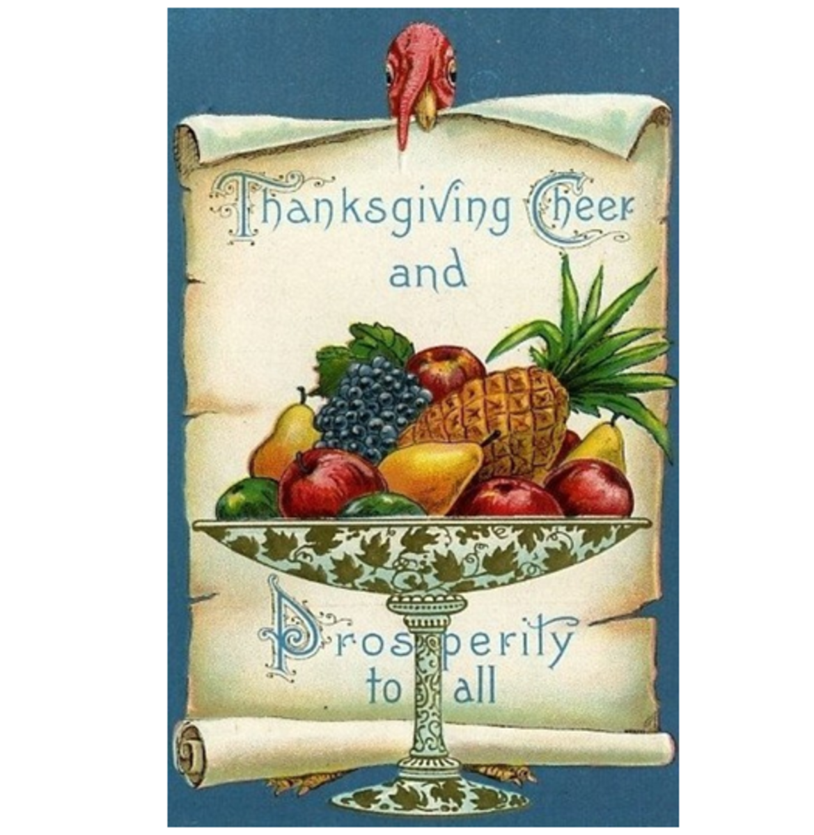Thanksgiving Cheer and Prosperity
