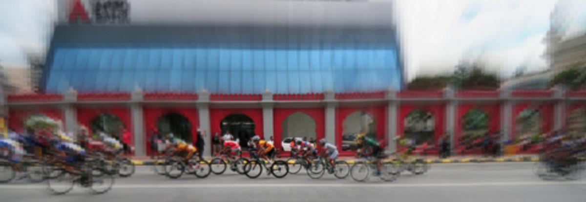 Le Tour de Langkawi in the Kuala Lumpur leg of the race