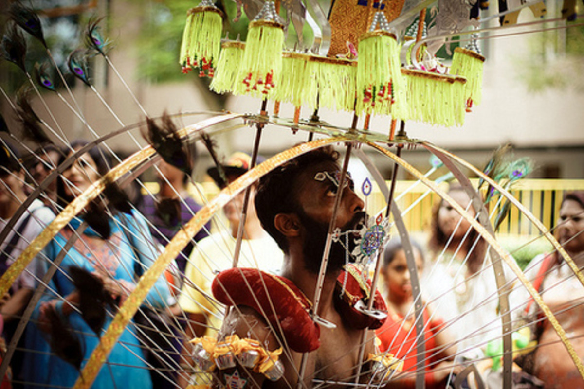 Thaipusam festival is probably the most colorful, dramatic and intense religious ceremony in the world