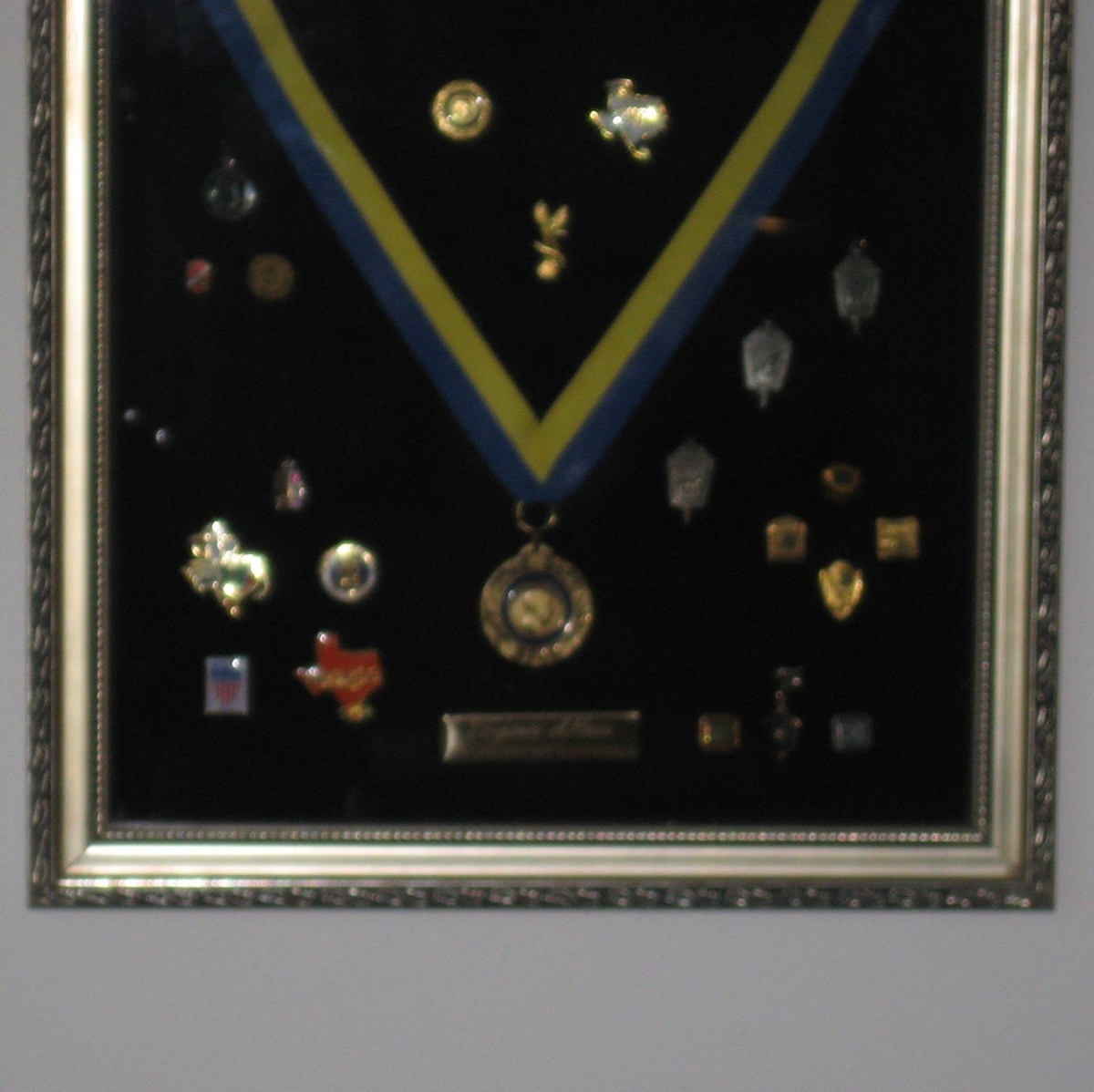 Fill a Shadow Box with Treasured Mementos