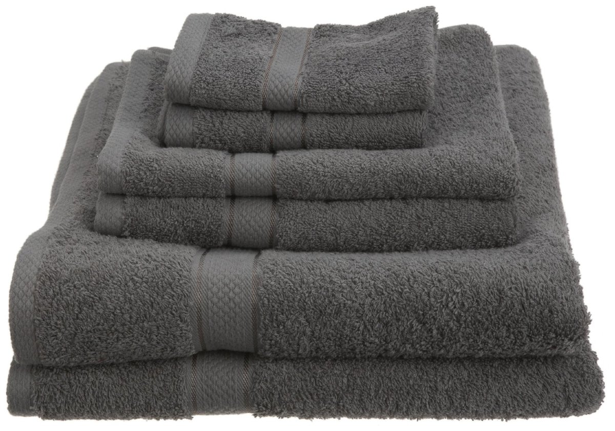 Another affordable option is this 4 piece set from Pinzon. It's one of the more popular towel sets on the market in 2013.