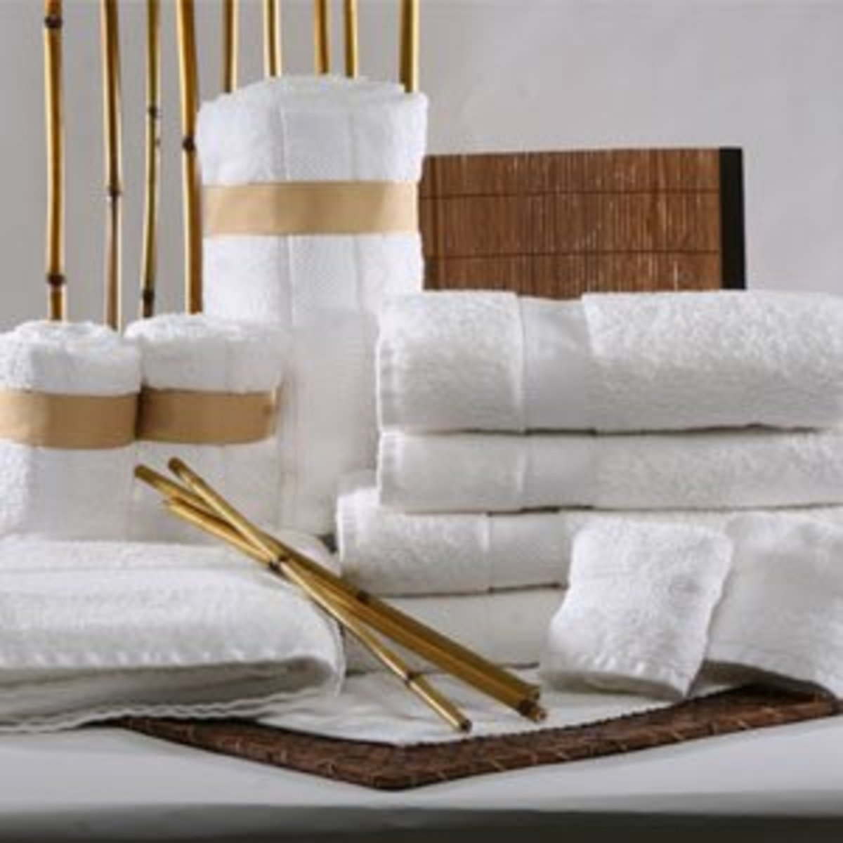Don't immediately write off Bamboo. You might be surprised that a Bamboo Egyptian Cotton Mix makes for one of the most luxurious bath towels available.