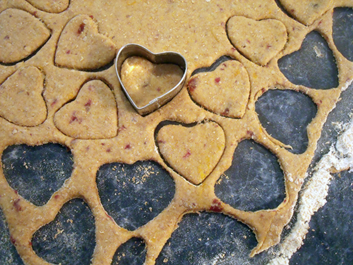 How To Make Heart Shaped Dog Treats