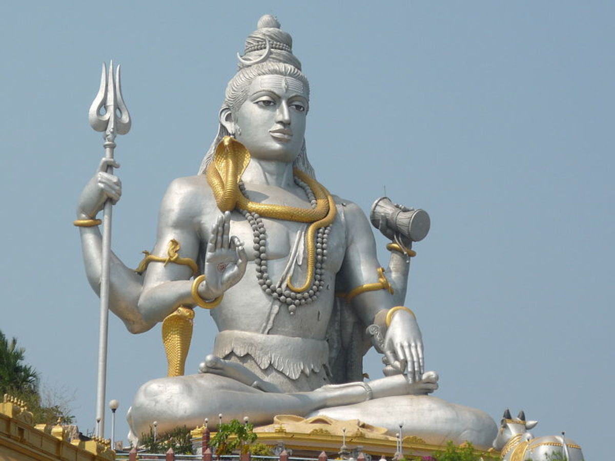 This statue of Lord Shiva is the second largest in the world.