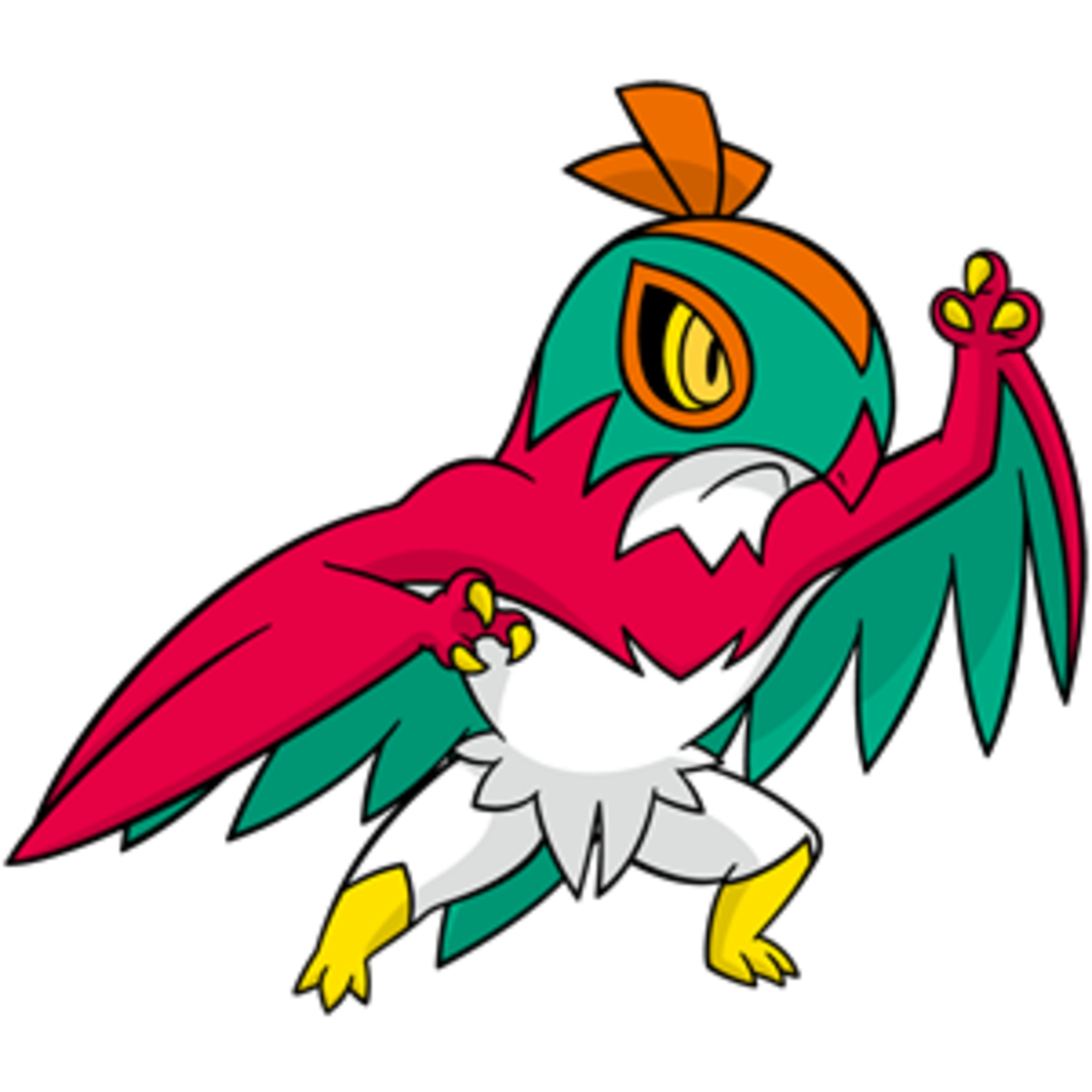 Pokémon X and Y Walkthrough, Pokémon Move Sets: Hawlucha