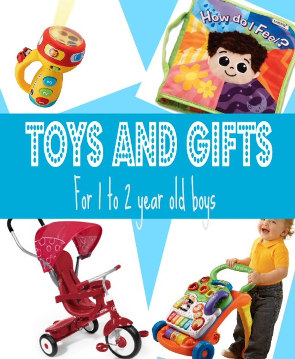 Best Gifts & Top Toys For 1 Year Old Boys In 2014