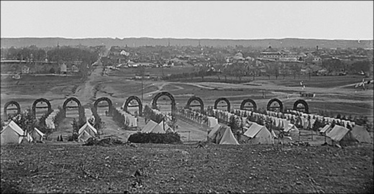 American Civil War Life: Union Infantryman – Life in Camp 3