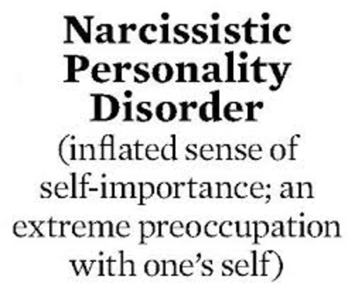 The narcissist personality and your sanity.