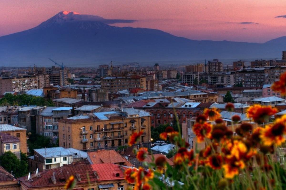 Yerevan and Legendary Mountain Ararat