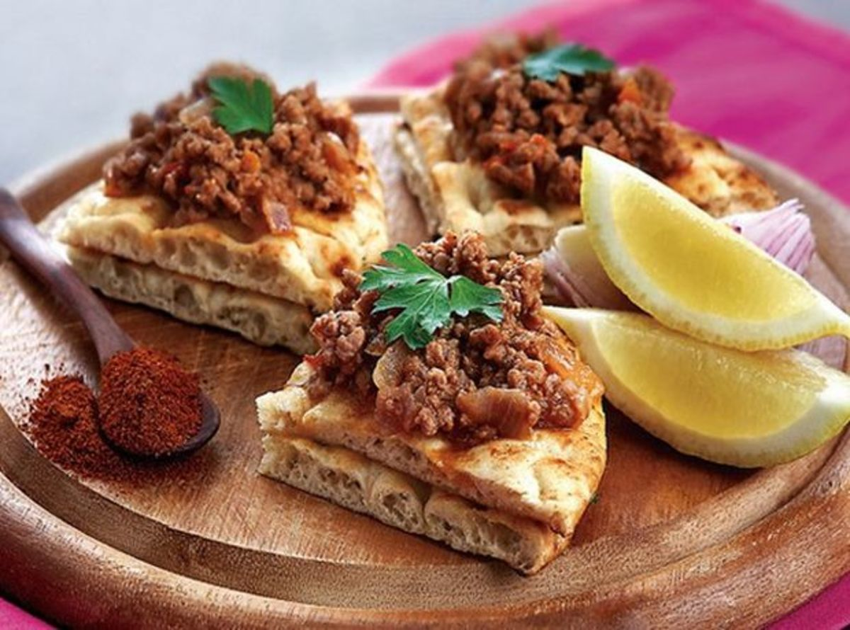 Armenian recipe lahmacun or lahmajo hubpages for Armenian cuisine book