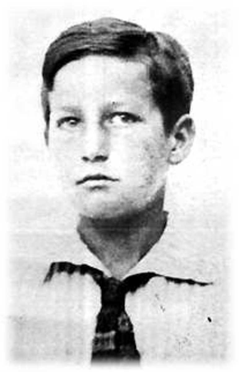 Octavio Paz as a youth.