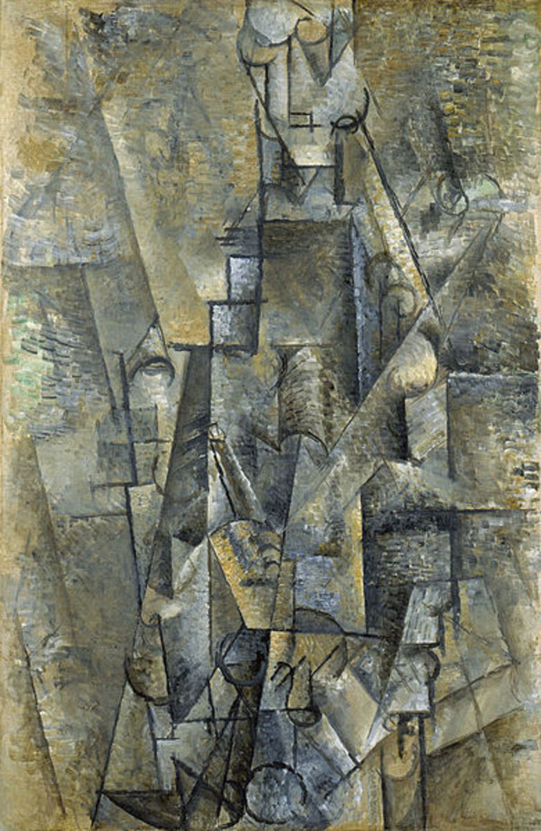 .L'Homme à la clarinette | Man with a Clarinet (1911-1912)