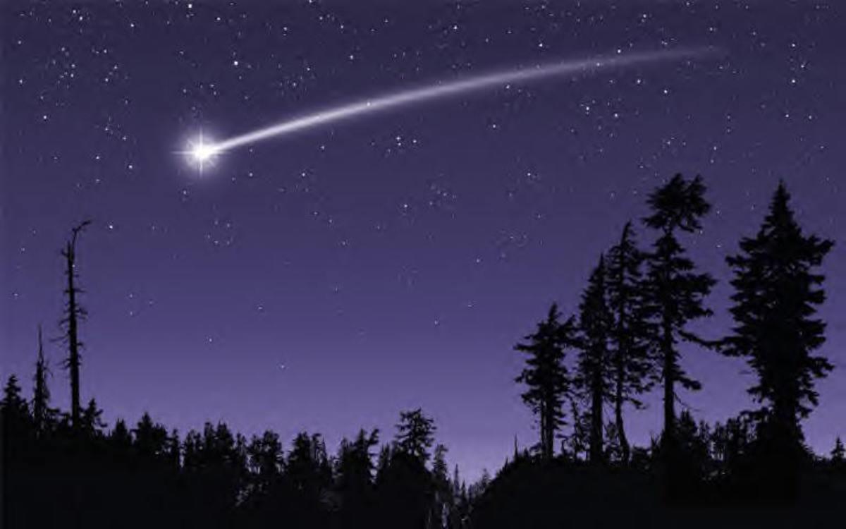 Micro-Poem (No.9) Shooting Stars