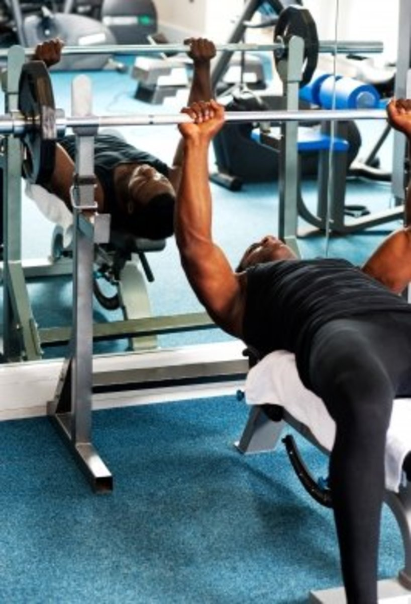 Bench press your way to a well defined and broad chest.