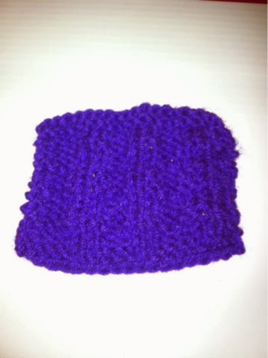This is a great pattern that shows up nicely in dark purple.