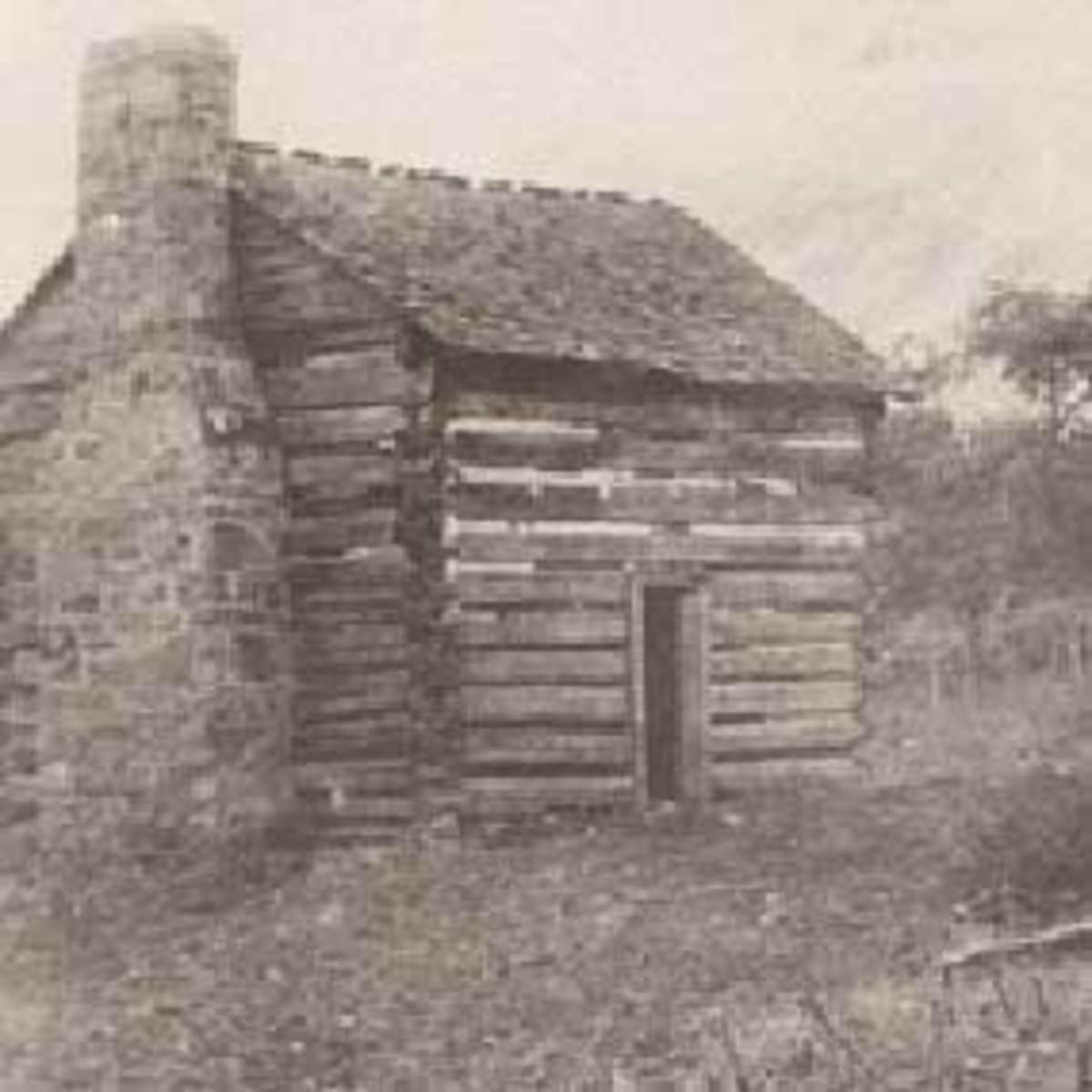 William and Mary Ingles original Cabin.