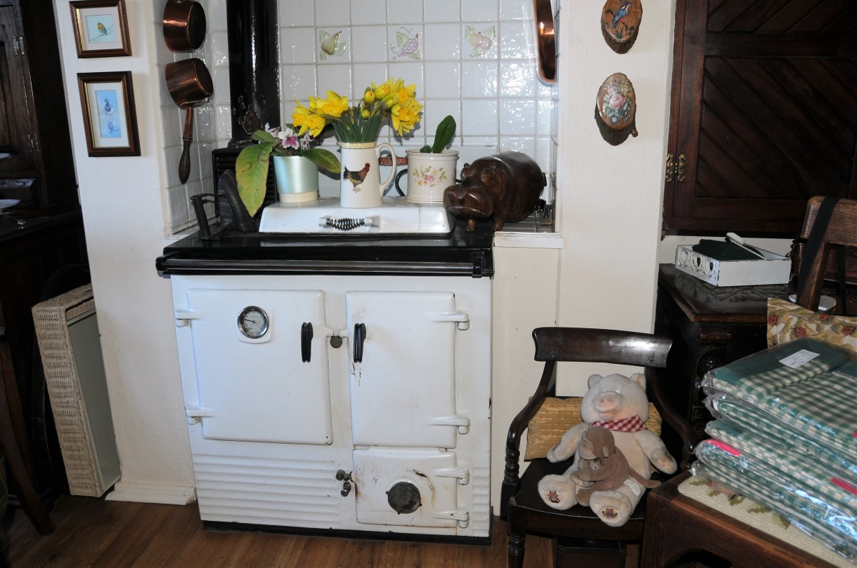 An Aga Stove, homely and perfect.