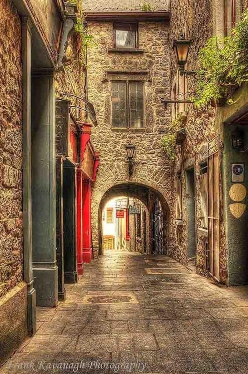 Medieval Passage, Kilkenny, Ireland