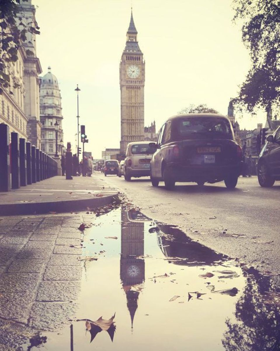 Who wouldn't want to live in beautiful, rainy London?!