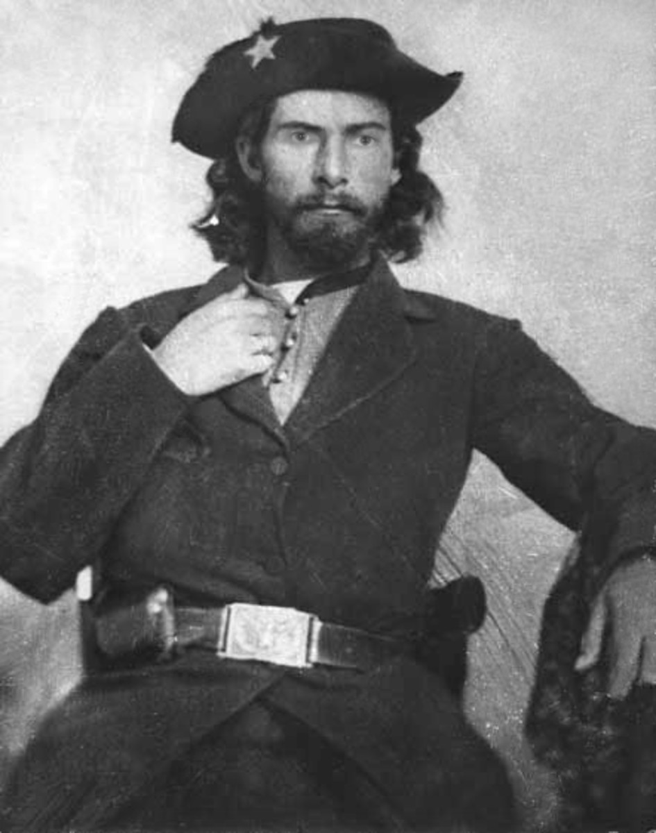 Confederate William T. Anderson's gang of men included outlaw Jesse James.