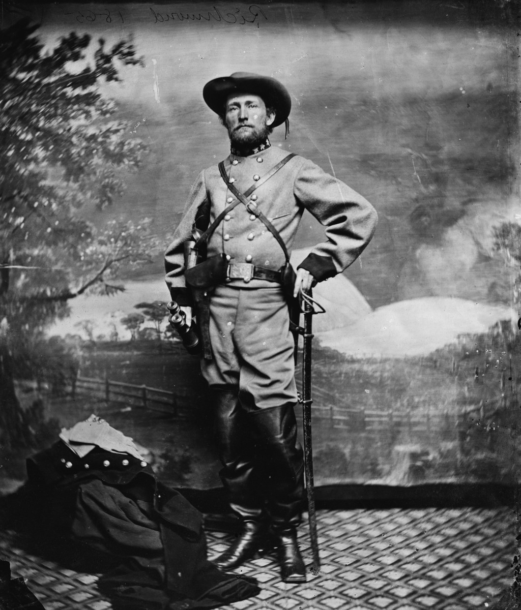 "John Singleton Mosby ( December 6 1833 — May 30 1916), also known as the ""Gray Ghost,"" was a Confederate partisan Ranger (guerrilla fighter) in the American Civil War."