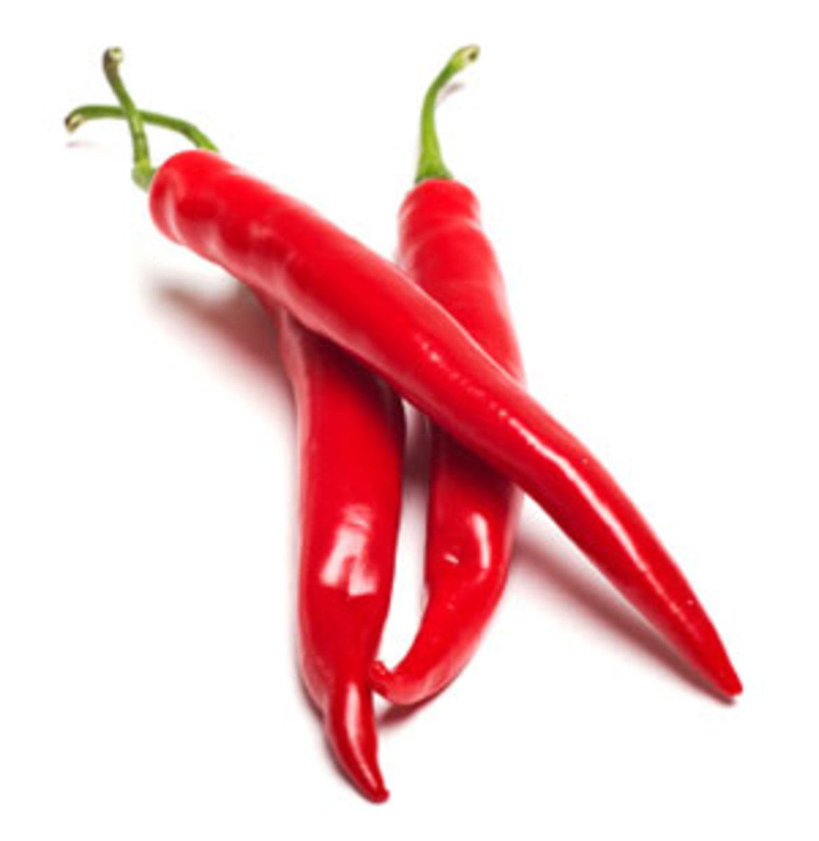 Cayenne peppers.