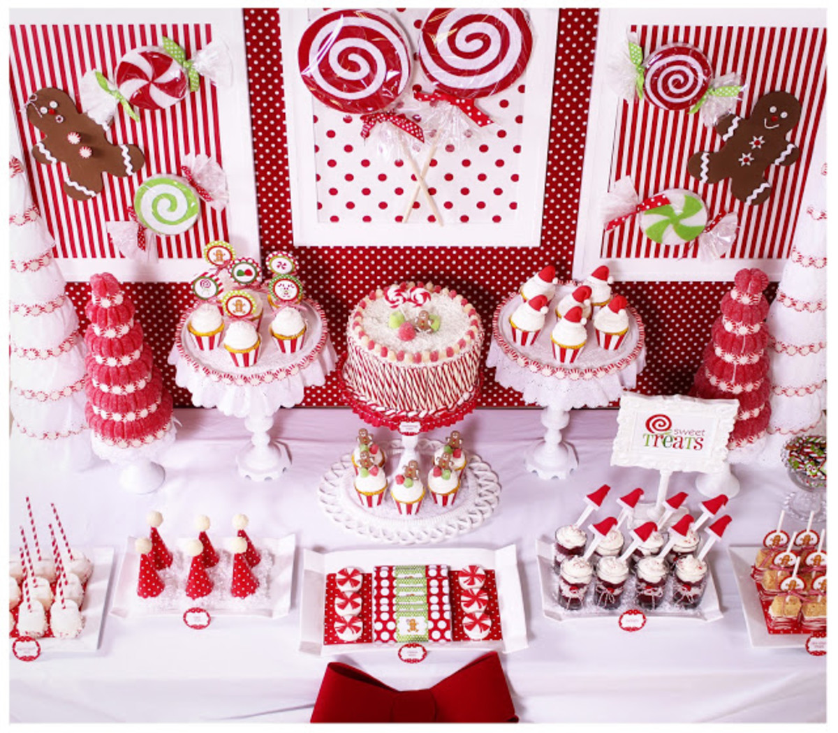 Candy Land Inspired Christmas