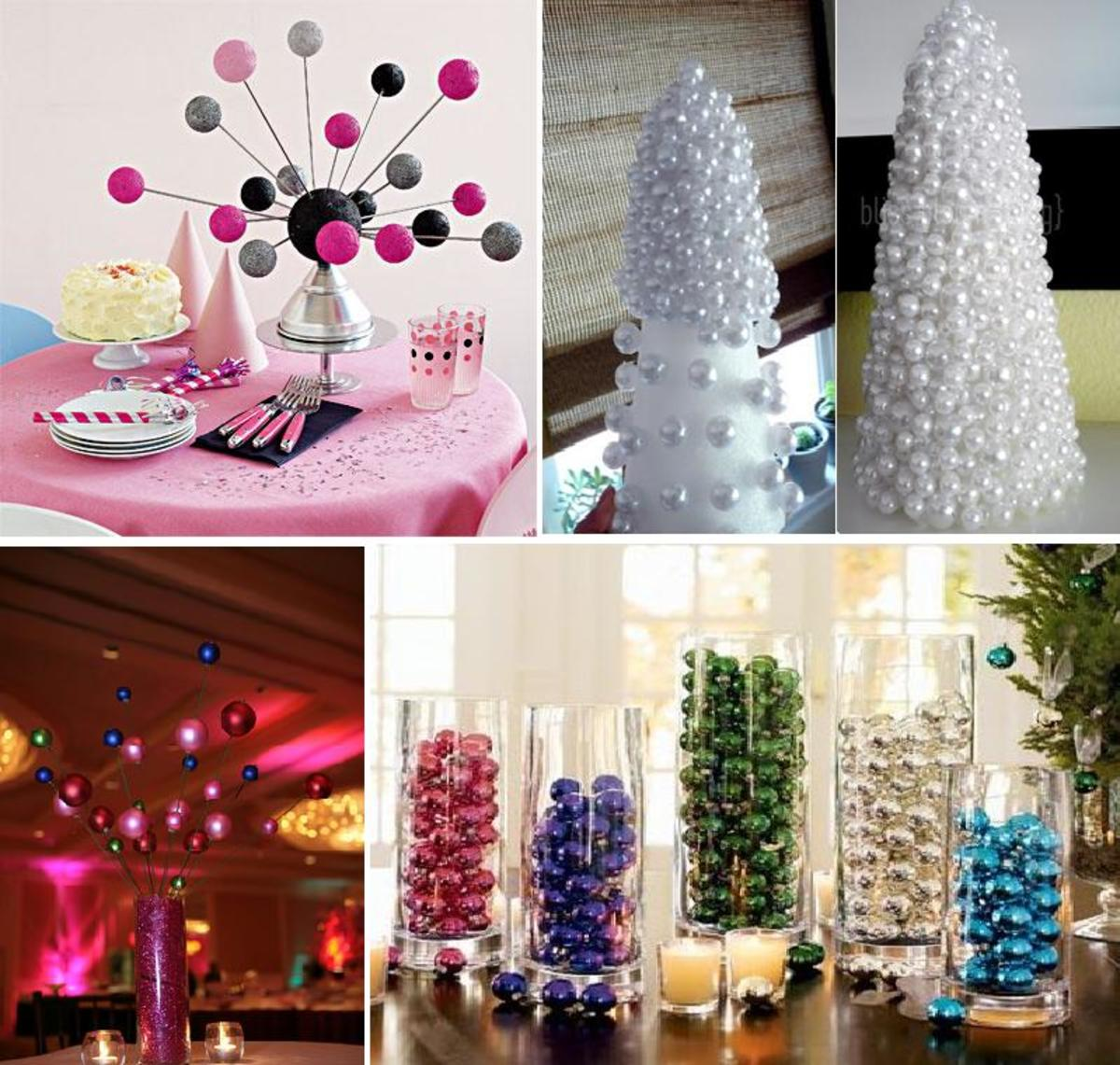 Ornamental Table Centerpieces