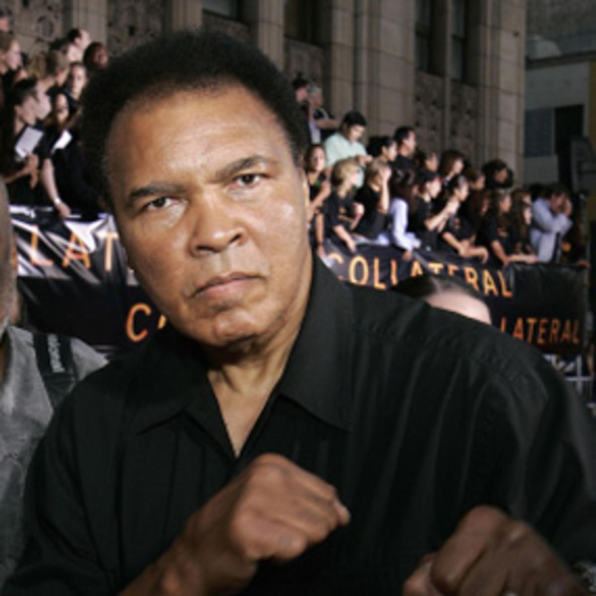 Muhammed Ali, retired boxer